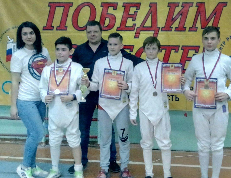 III межрегиональный турнир «Первые старты» по фехтованию на шпагах среди детей 2005-2008 г.р.